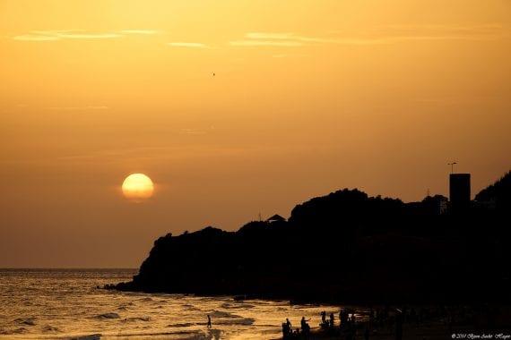 Sunsetatla barrosa