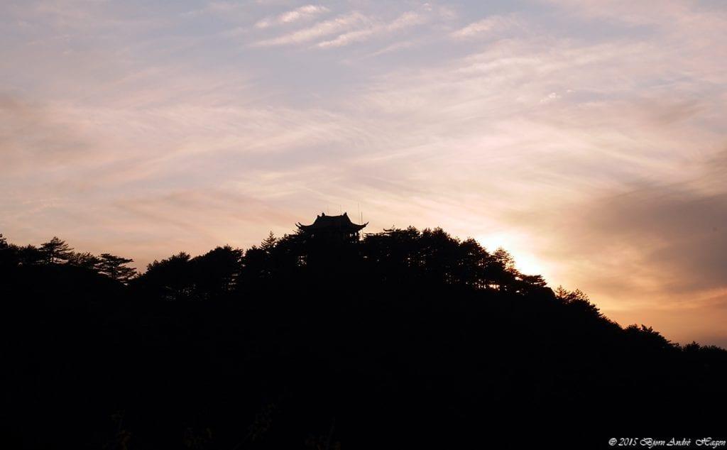 Yellow Mountain Sunset 01
