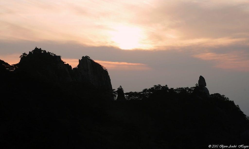 Yellow Mountain sunset 02