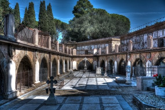 Florence graveyard Porte Sante
