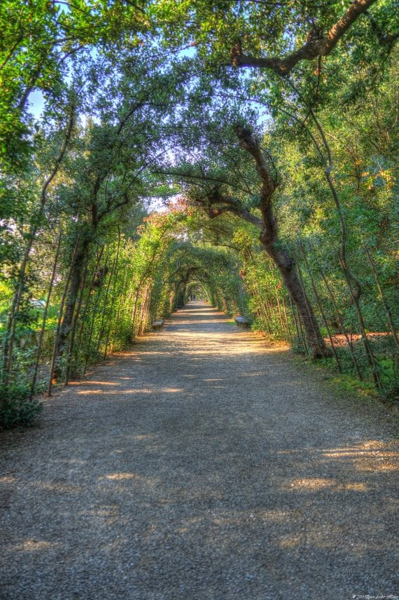 Florence Boboli park