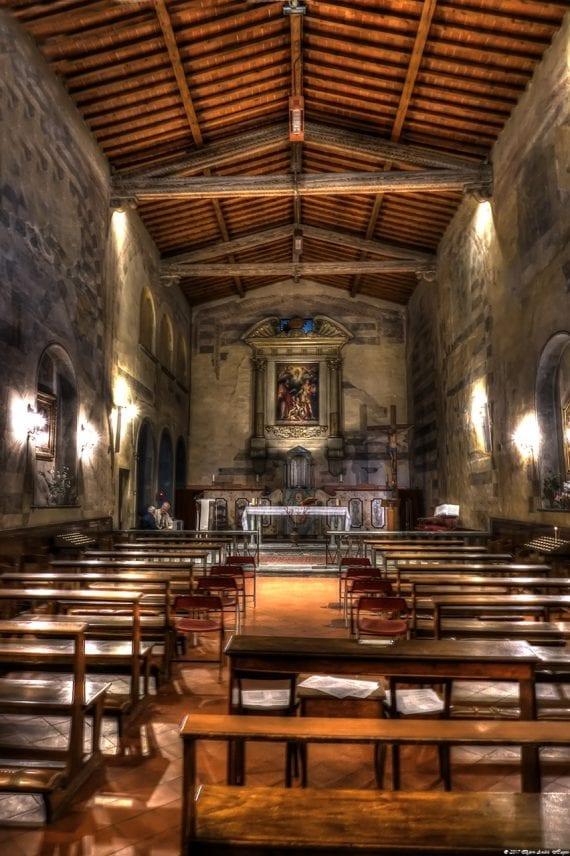 Florence Church of San Giovanni Battista della Calza