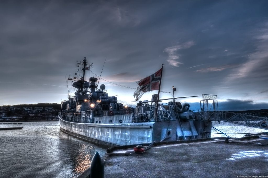 The old warship