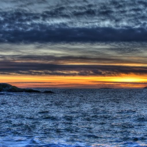 Folehavn sunset 2
