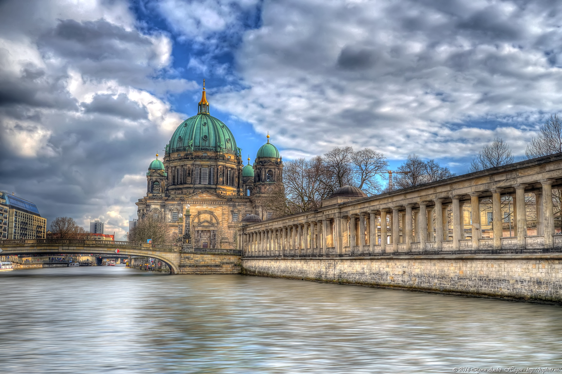 Berliner Dom by the river