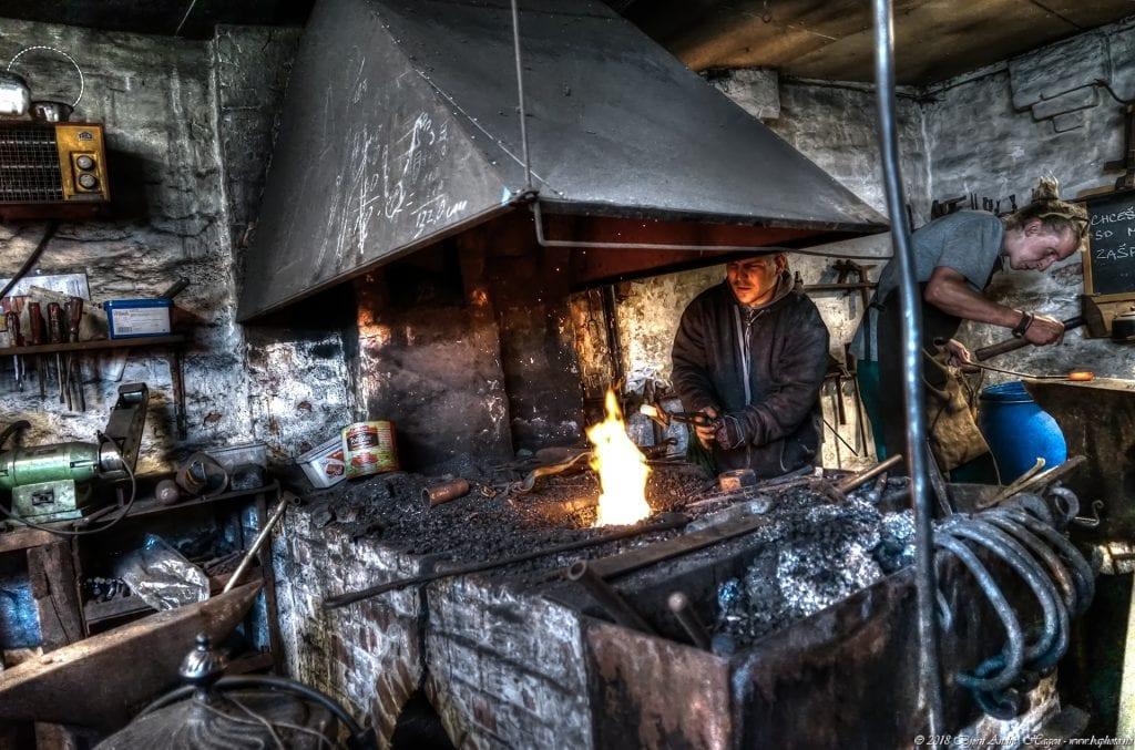 The two blacksmiths