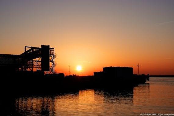 Hirtshals sunset