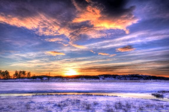 Cold sunset 2