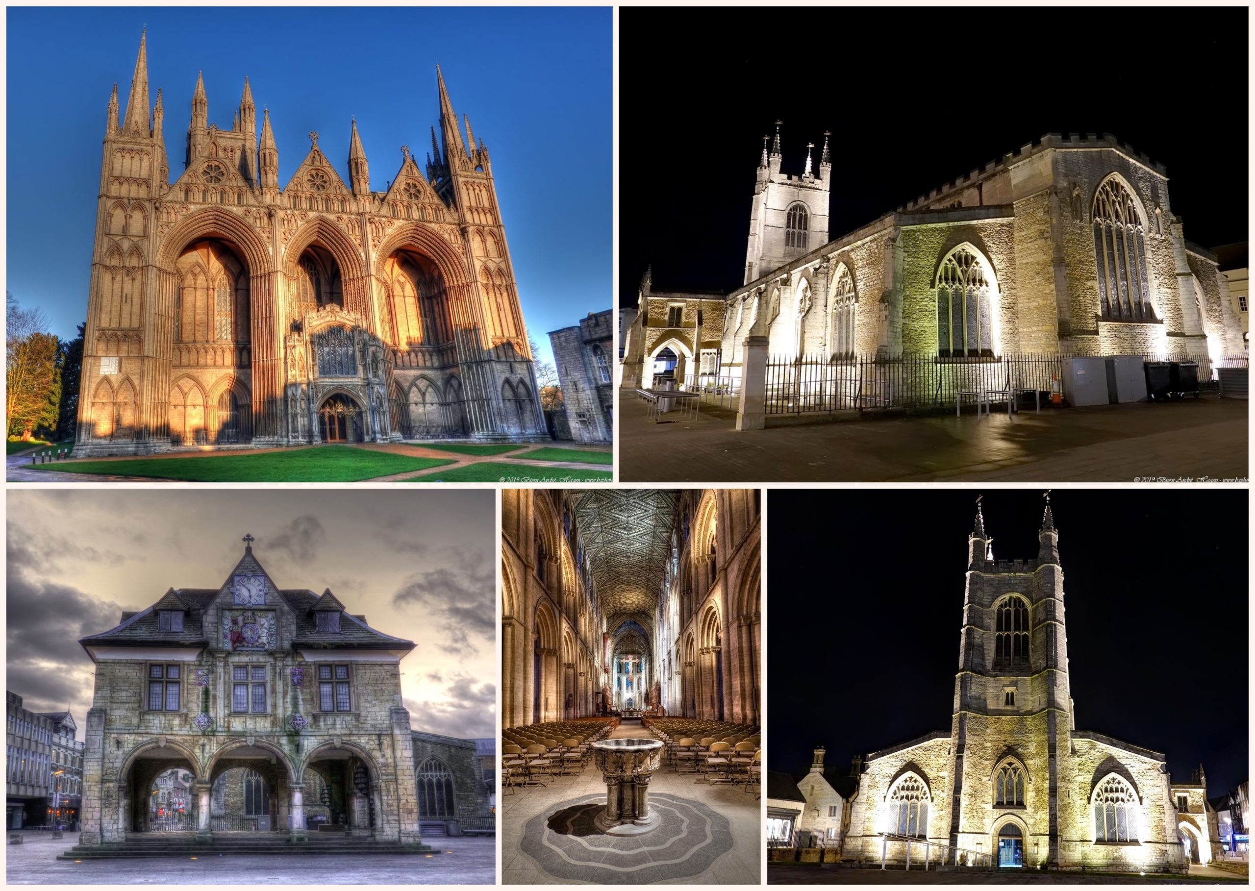 Peterbourgh collage