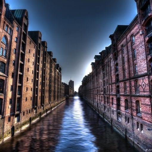 Speicherstadt district Hamburg