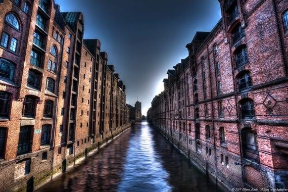 Speicherstadt district Hamburg