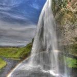 Seljalandsfoss rainbow