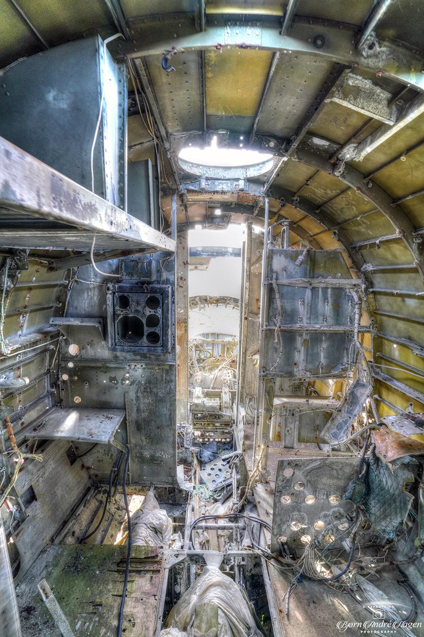 US Navy R4D-6 Inside 2