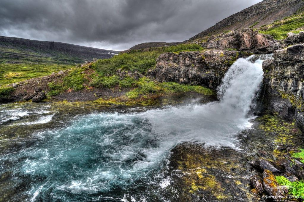 Dynjandi waterfall 2