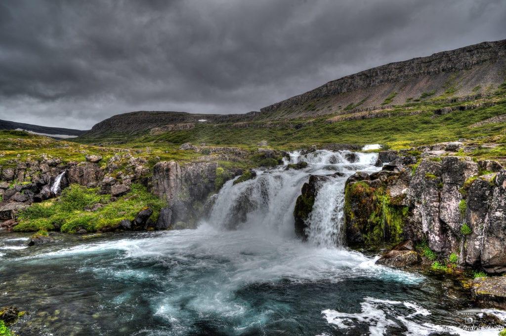 Dynjandi waterfall 3