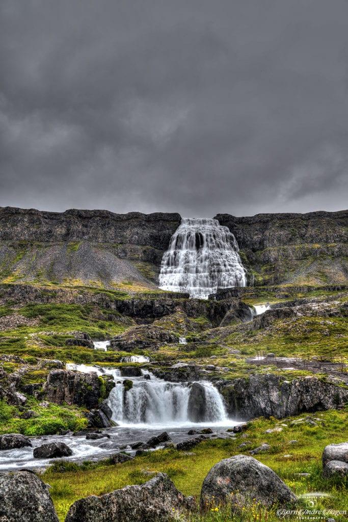 Dynjandi waterfall 4