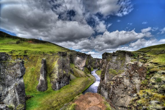 Fjarðarárgljúfur 2020 into canyon