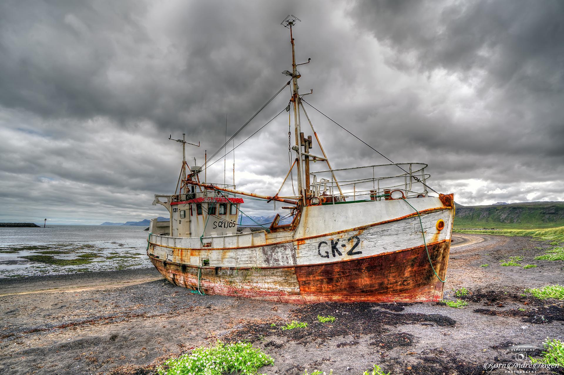 Iceland 2020 Stranded boat
