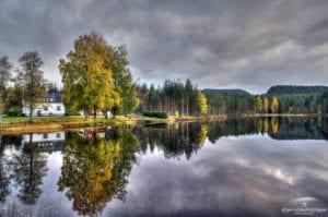 Eidstjønn house mirror fall 2020