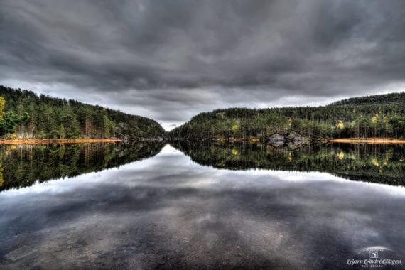 Haugsjå lake fall 2020