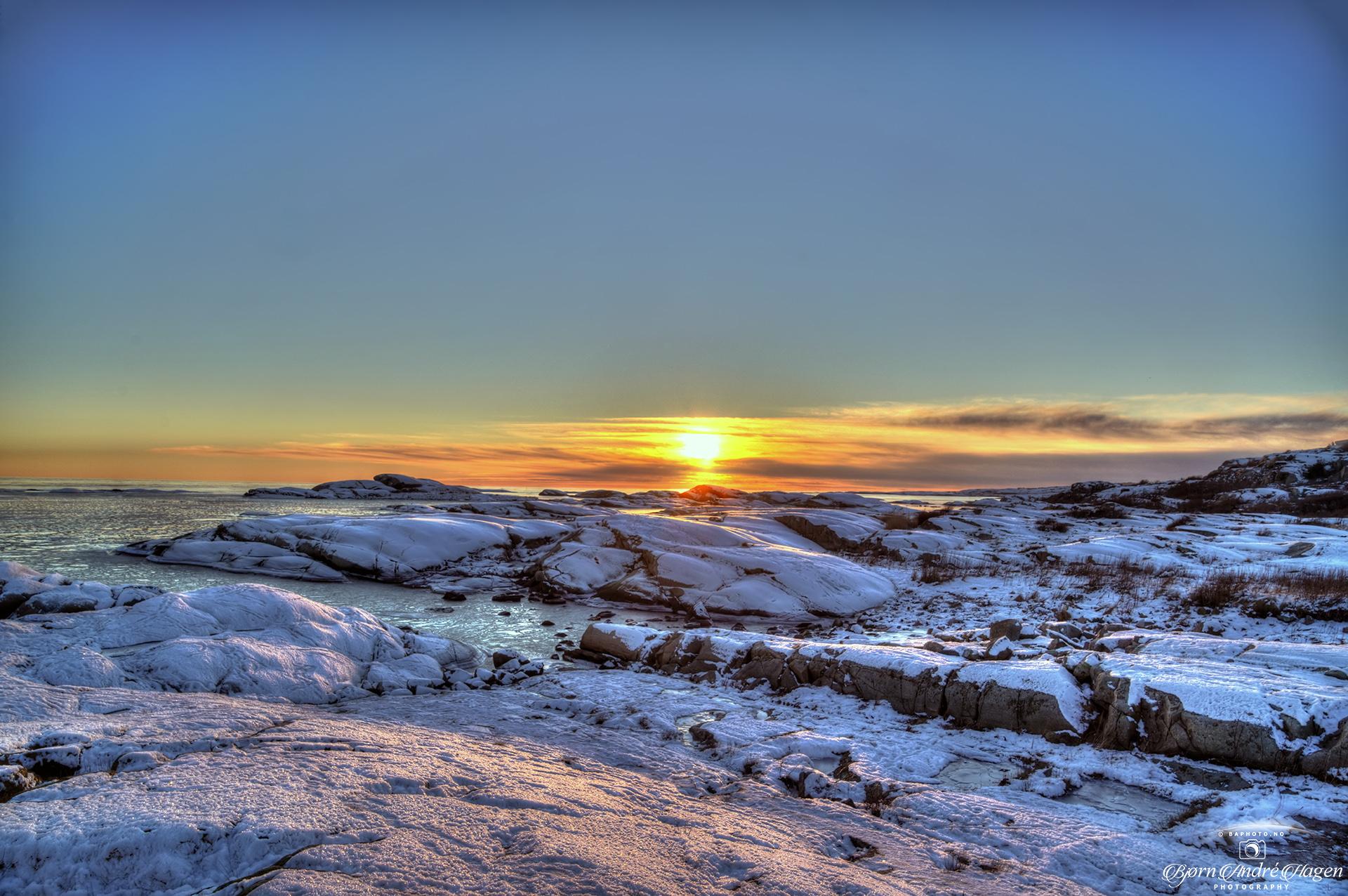 Sunset over Rakke 1