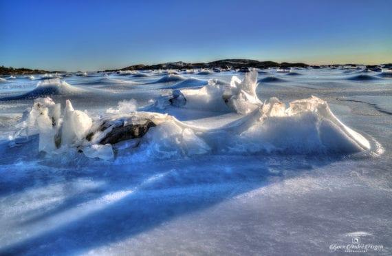 Nevlunghavn Ice landscape
