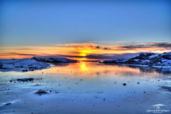 Sunset over Rakke 3