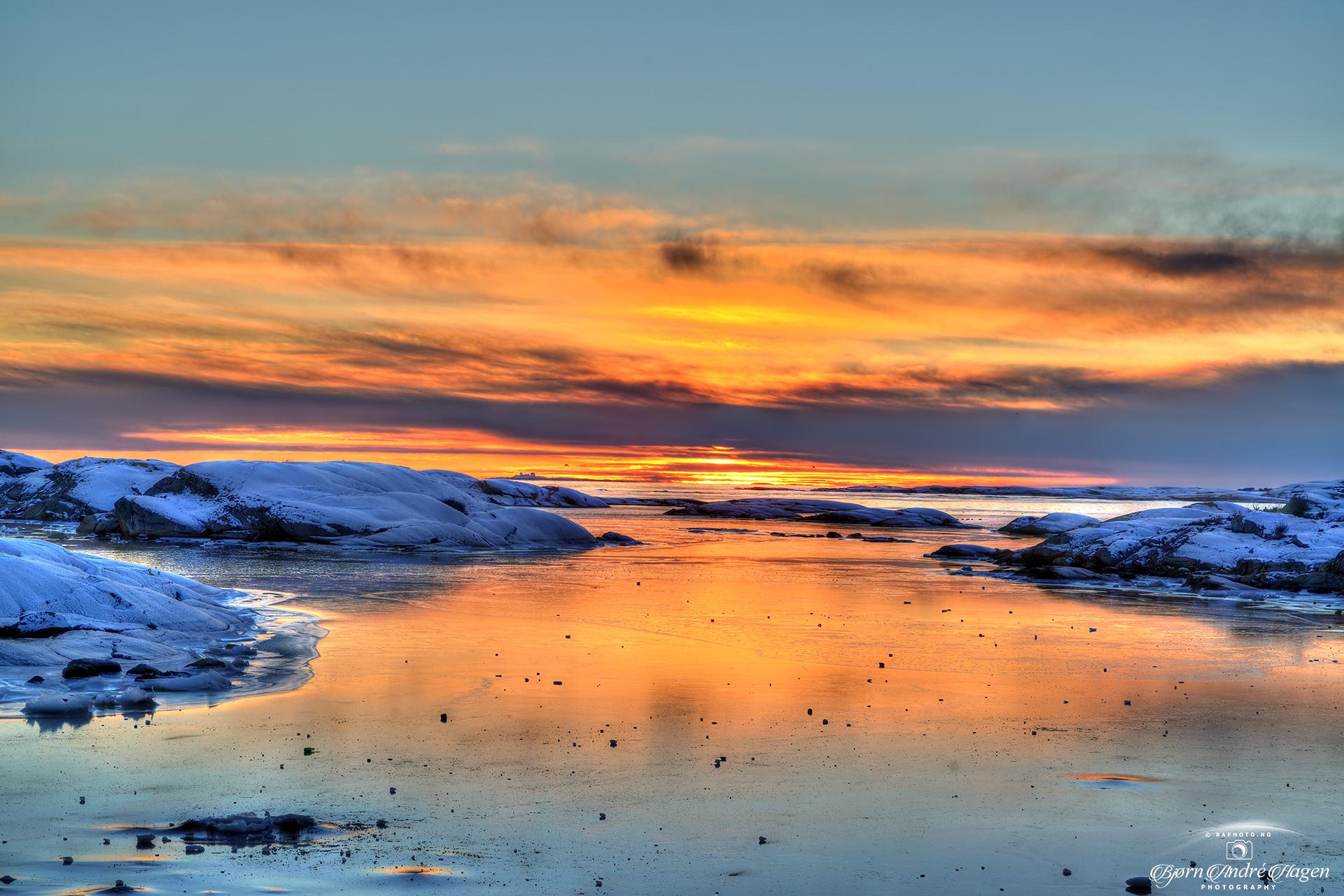 Sunset over Rakke 4
