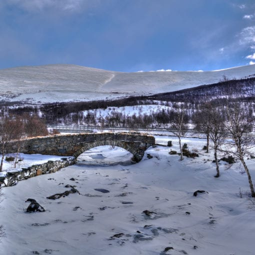 Dovrefjell bridge