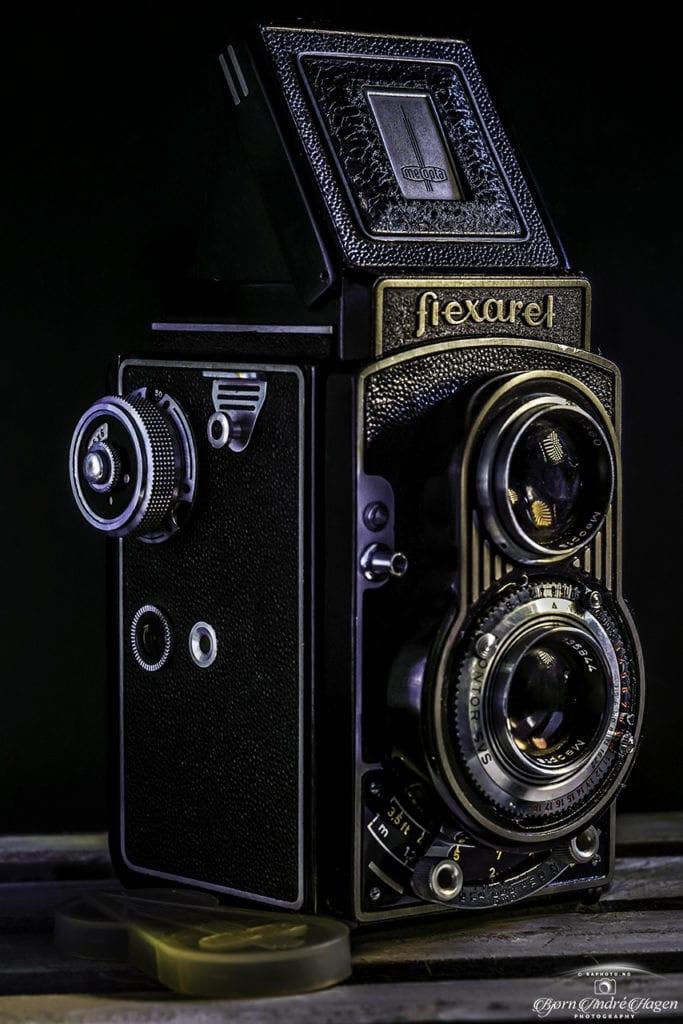 Flexaret old camera color
