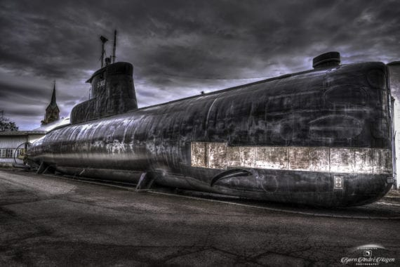Utstein - ubåt fra Kald krig