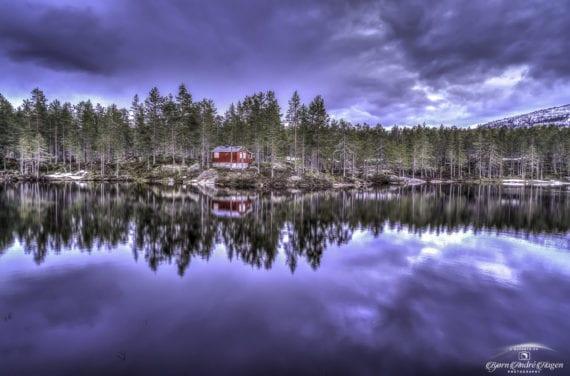 Åmdals verk, den røde hytta