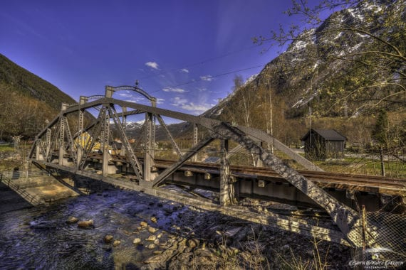 Rjukan Railway bridge