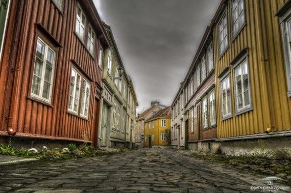 Trondheim wooden houses