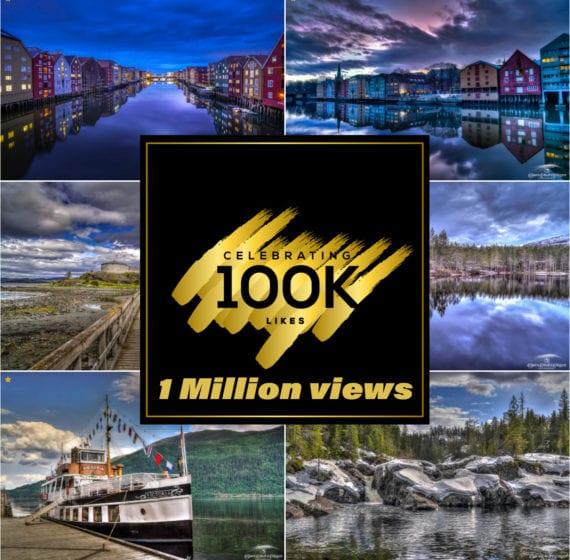 100K likes 500PX