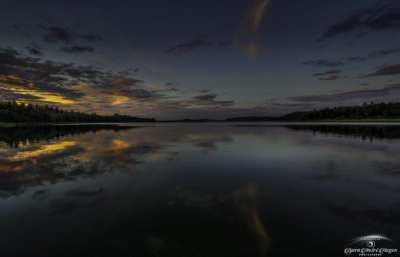 Sunset Akersvannet September 21 #2