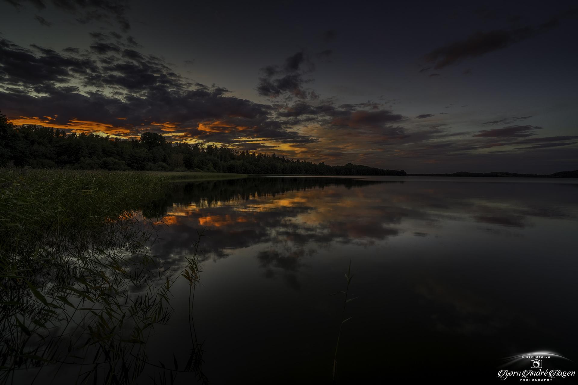 Sunset Akersvannet September 21
